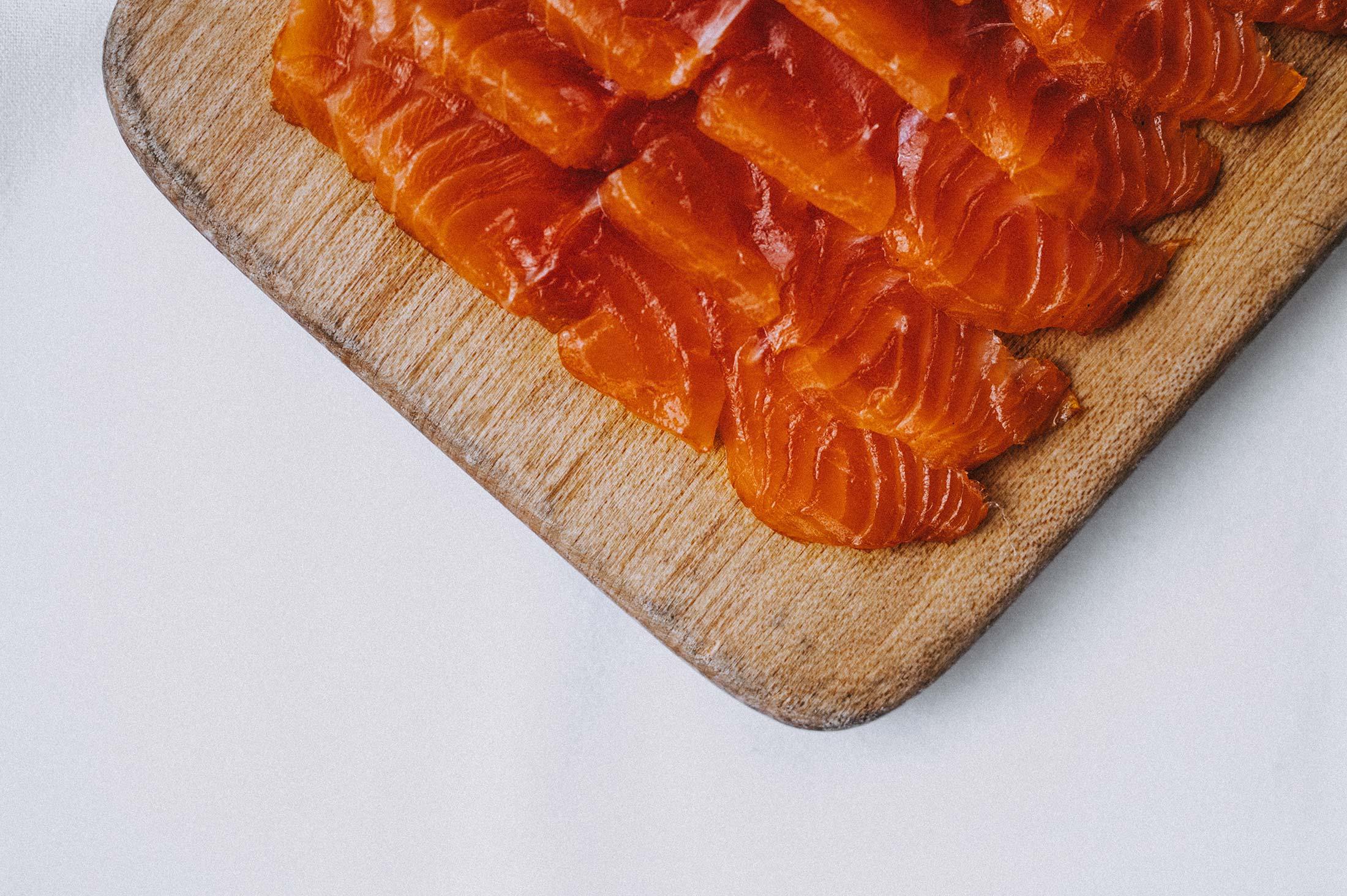 De Beauvoir smoked salmon