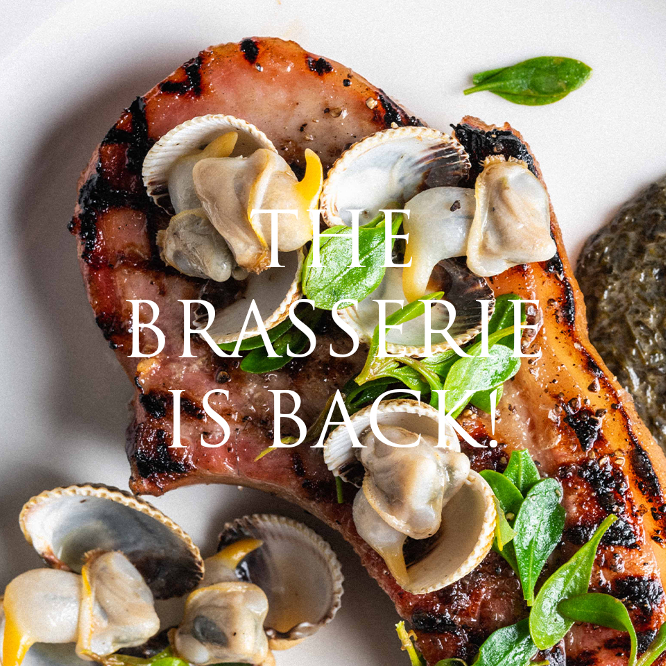 The Brasserie is back!